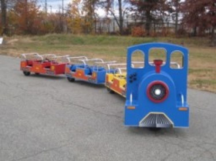 Royal Express Trackless Train