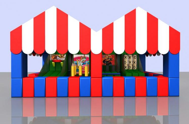 Carnival Midway Tent B