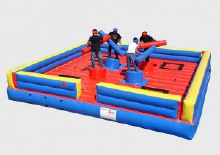 Gladiator Joust - Extreme Jousting: 4 Man