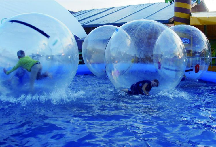 Water Balls with Pool