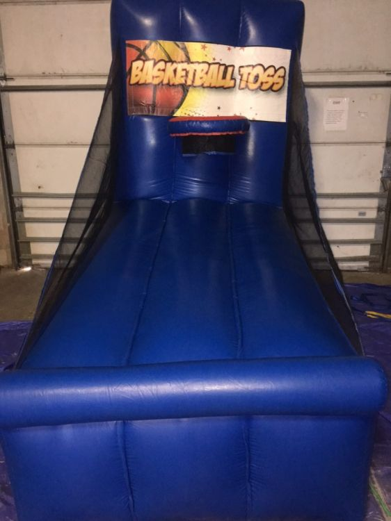 Carnival Midway Game: Basket Ball