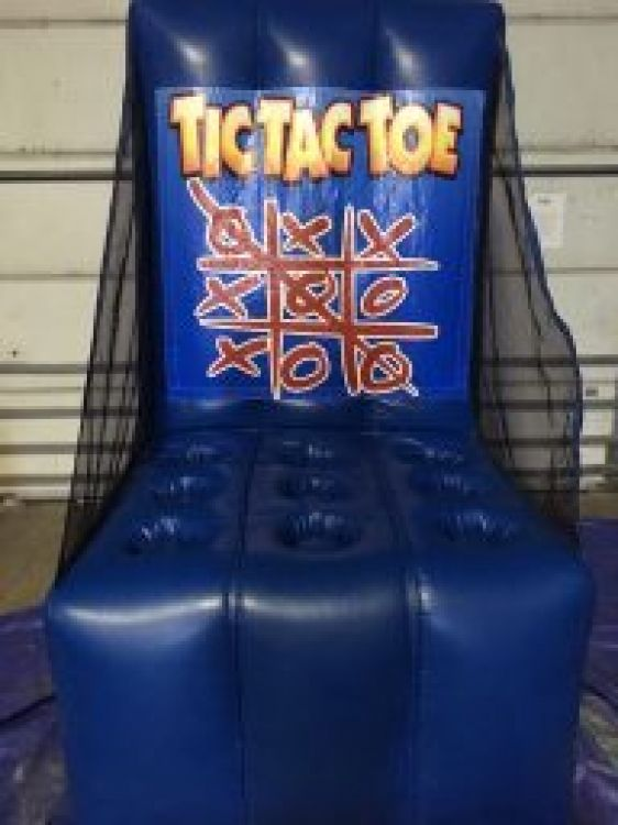 Carnival Midway Game: Tic-Tac-Toe